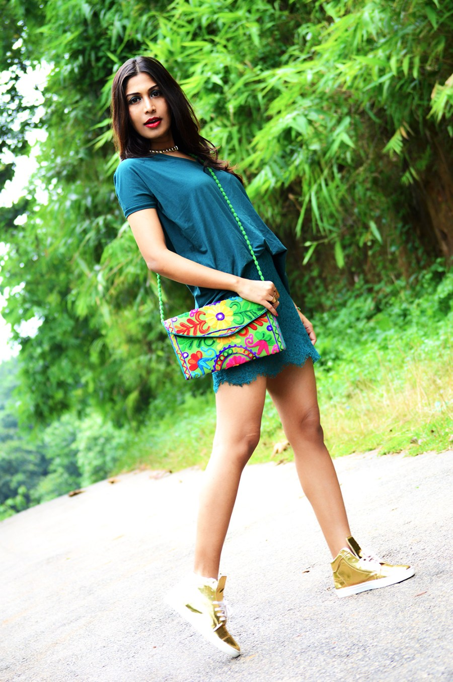 Fashion, Style, Photography, Green, Beauty, Lifestyle, Indian Fashion Blogger-1