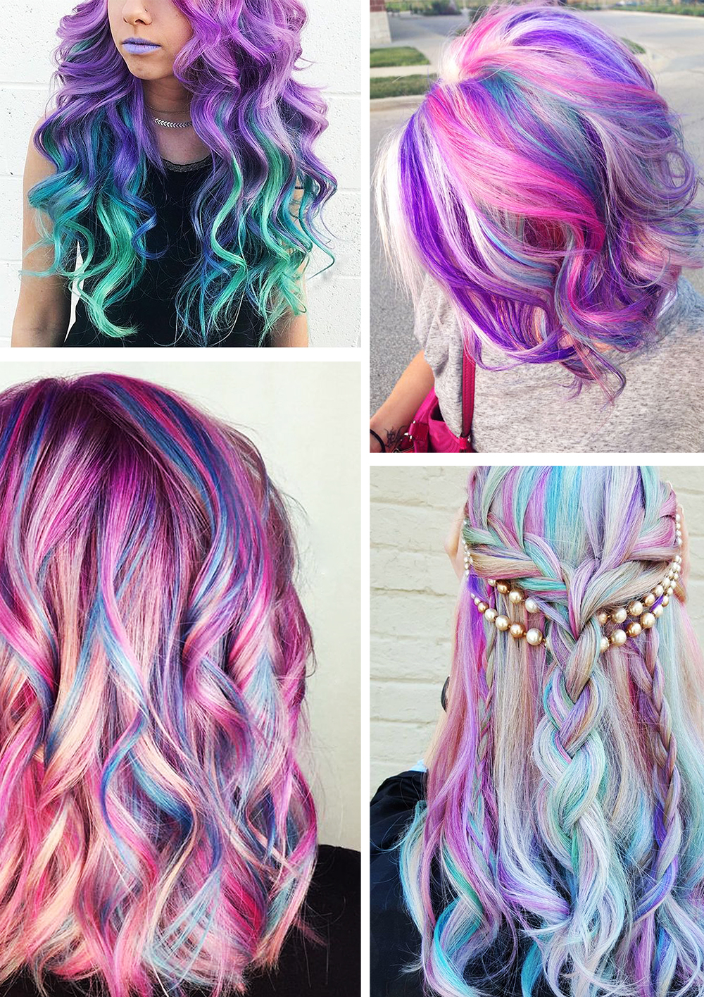Latest Fashion Trends, Fashion, Style, Unicorn hair colour, Photography-6