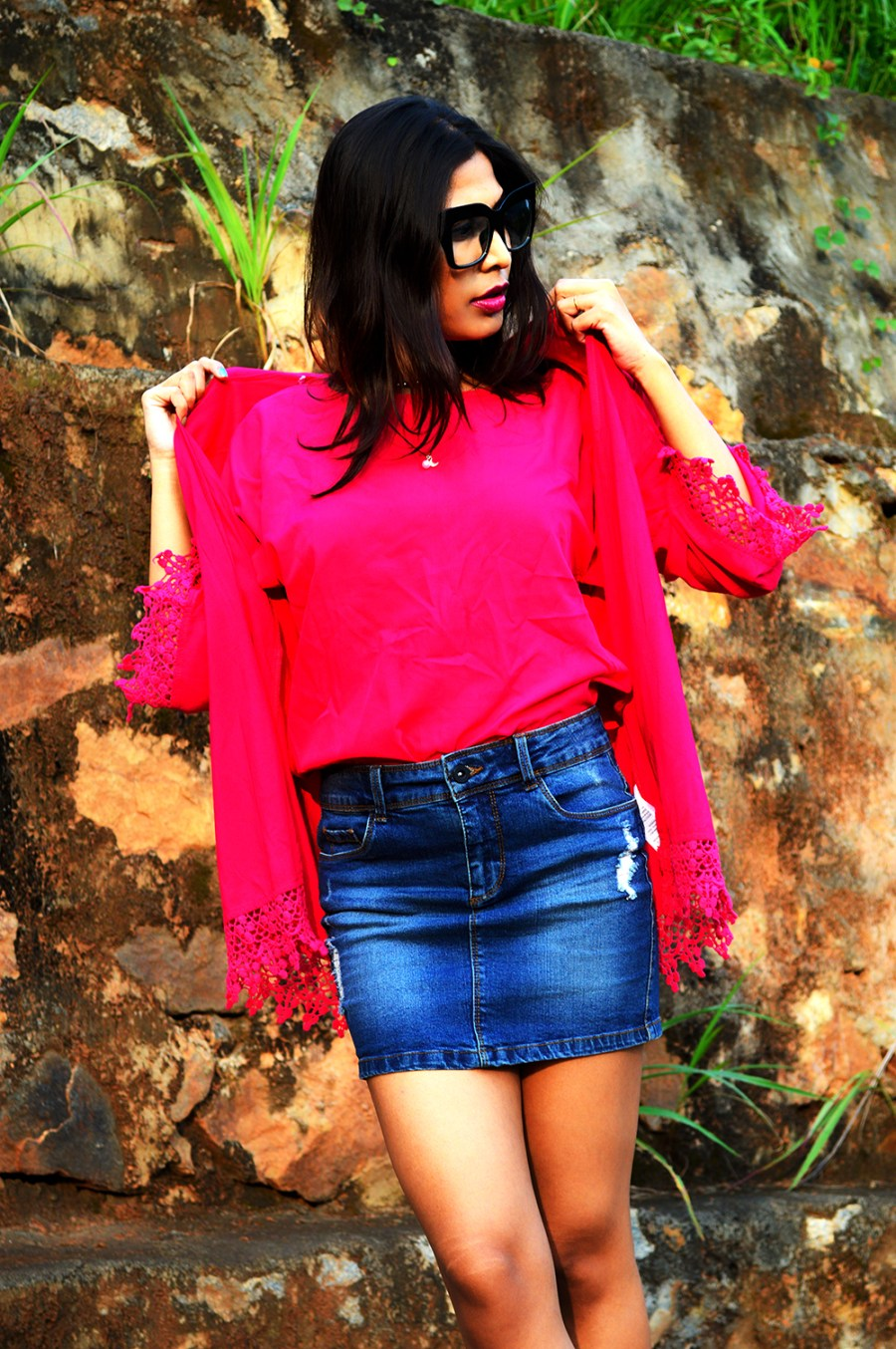 Fashion, Fuchsia Pink, Style, Street Style, Fashion Blogger, Beauty, Indian Fashion Blogger, Indian Street Style, Photography-6