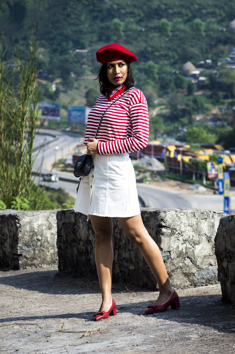 Fashion, Style, Indian Fashion Blogger, Beauty, Beret, French Style-2