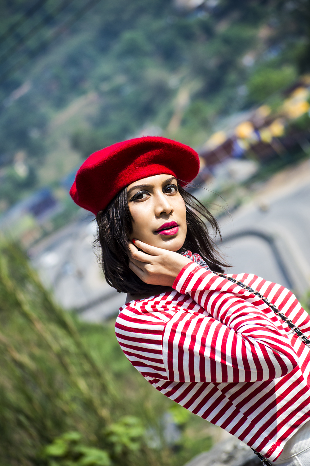 Fashion, Style, Indian Fashion Blogger, Beauty, Beret, French Style-4