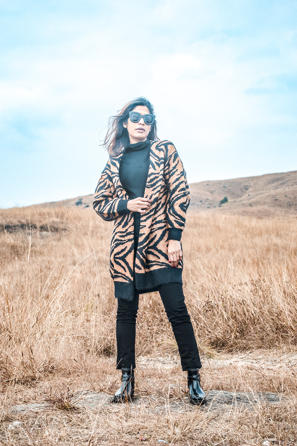 Tiger Print, Fashion, Street Style, Blogger Style, Travel, Cherrapunji, Fashion Blogger-2