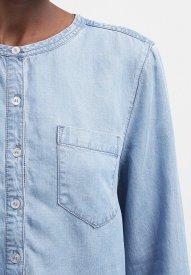 Selected Femme SFWILMA - Blouse - medium blue denim