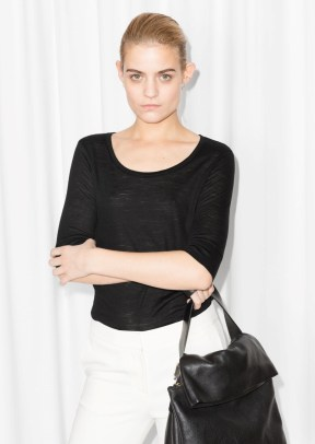 & Other Stories Lightweight Wool Top black (100% wool) € 29