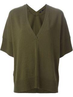 STILLS shortsleeved sweater in olive