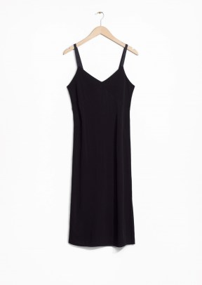 &Other Stories Viscose Dress black