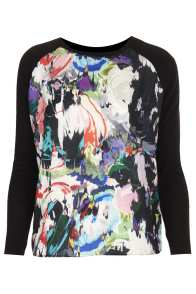 Knitted Marble Woven Jumper, $76, available at us.topshop.com