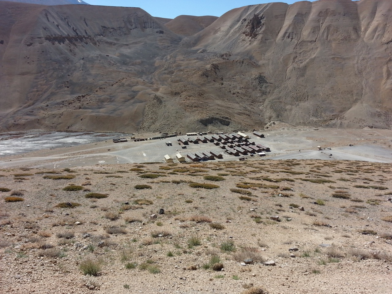 Remote military camps