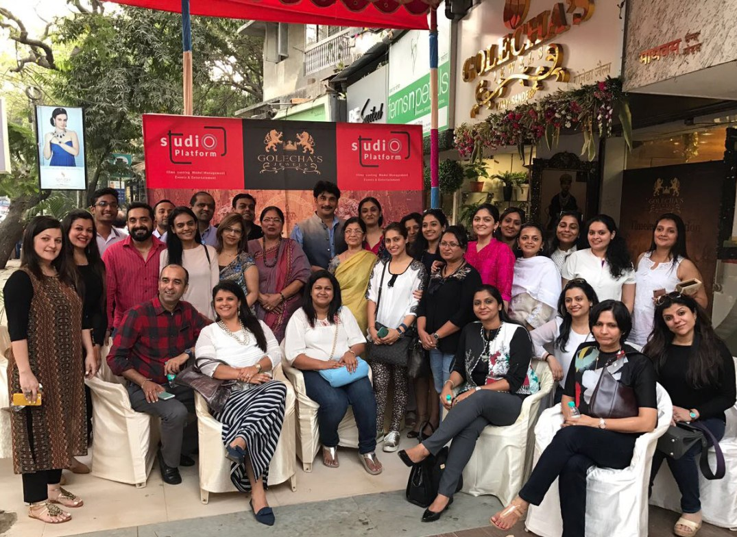 Women's Jewellery Association (WJA) India Chapter Members At The Golecha Store In Mumbai. PC-StylePrer
