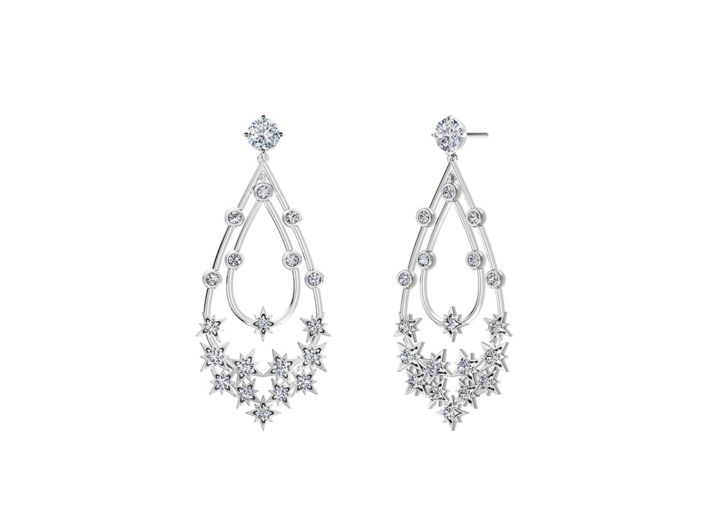 Stary Diamond Earring From The Forevermark Artemis Collection
