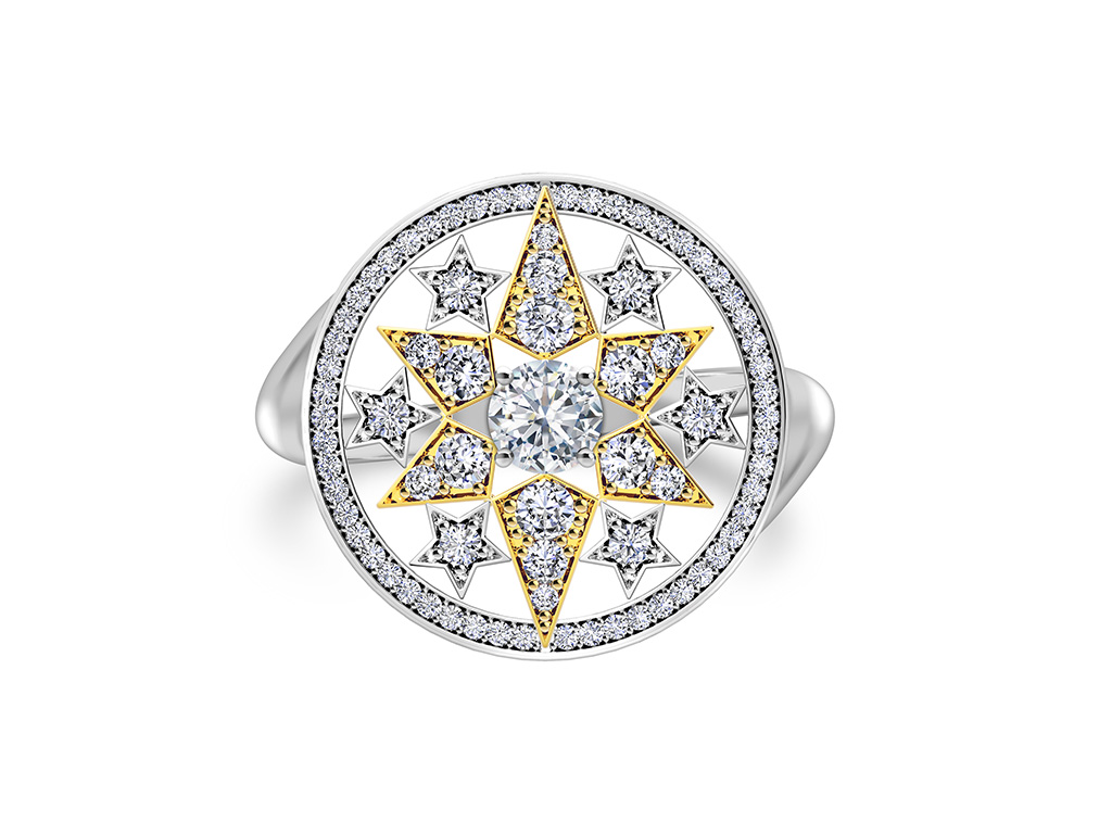 Diamond Ring From The Forevermark Artemis Collection