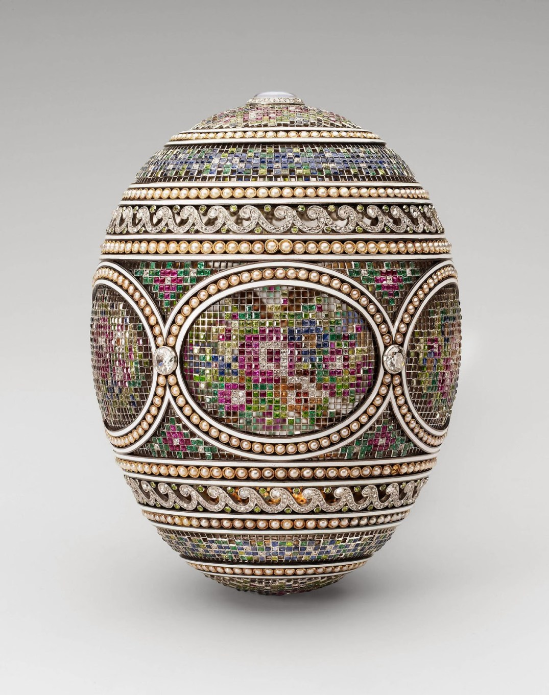Fabergé Mosaic Egg,1914 Estimated Currently At Approx GBP 27.7 Million. PC- Stalking the Belle Époque