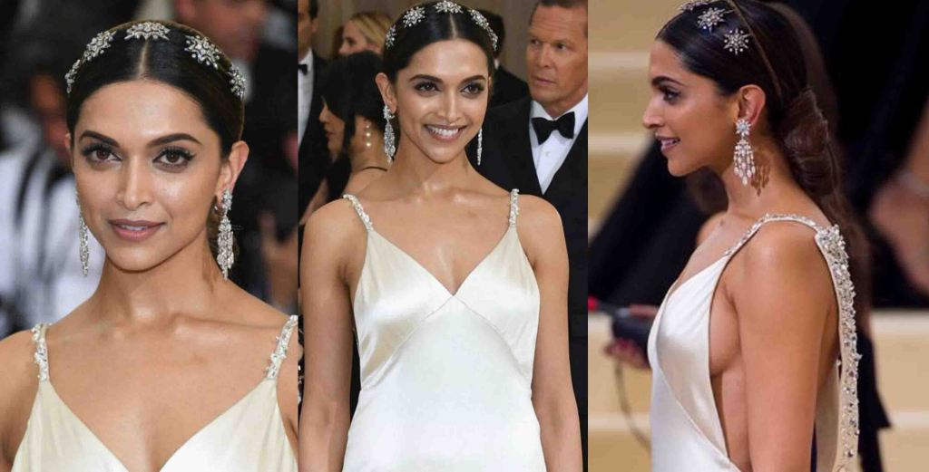 Deepika Padukone In Diamond Head Gear. PC-Google