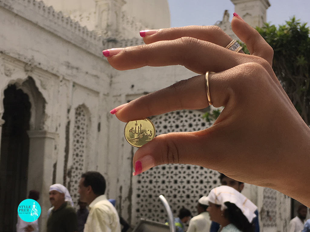 Bismillah Gold Coin By IBJA Gold At The Haji Ali Dargah In Mumbai