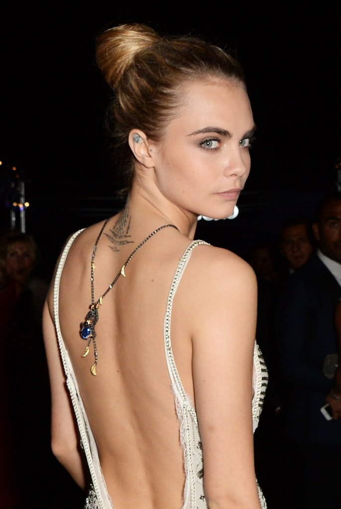 Cara Delevingne in De Grisogono 'Fatale In Cannes' Party - The 67th Cannes Film Festival