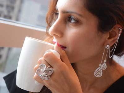 Earcuffs By Orra Encrusted With Forevermark Diamonds