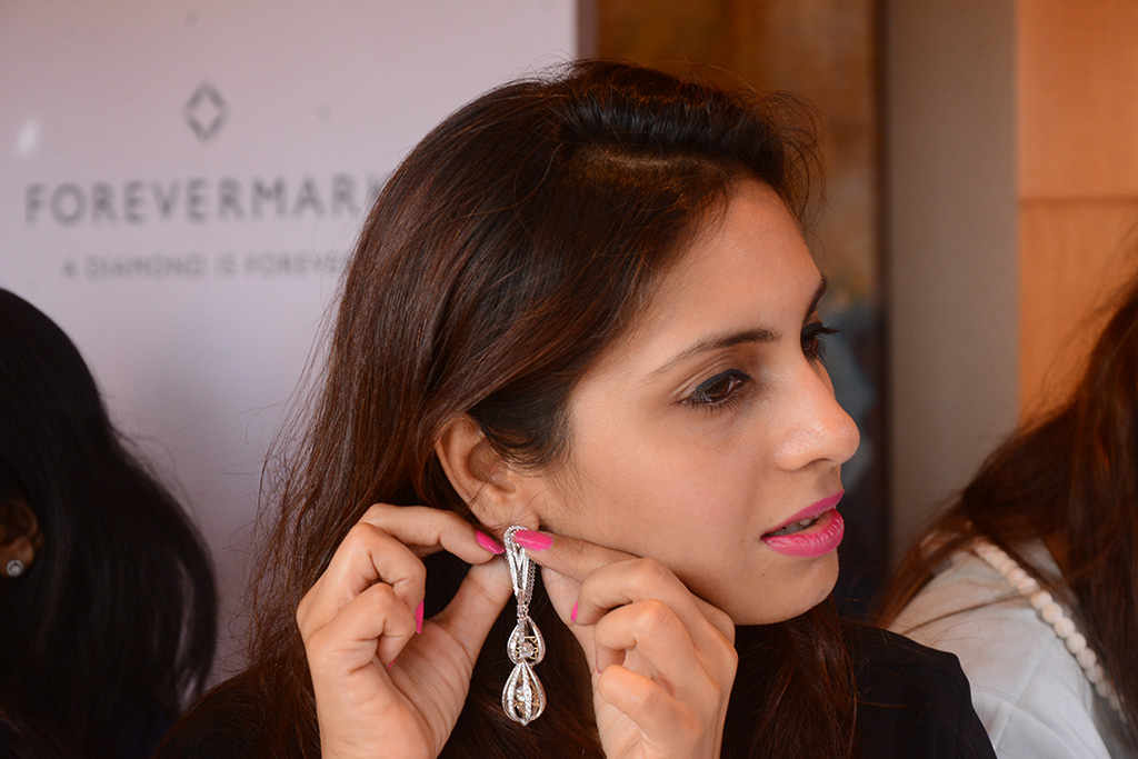 Cosmic Radiance Earrings Inspired By The Sun, Moon, Stars By Narayan Jewellers And Forevermark Diamonds