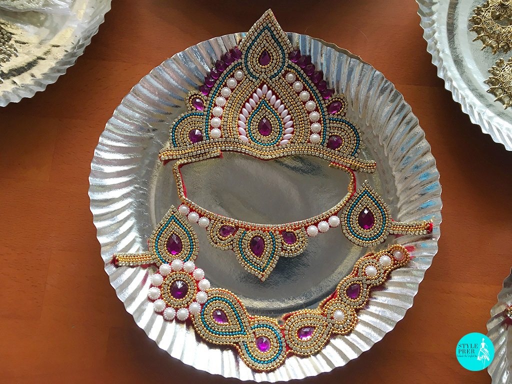 Handmade Decoration For Deities Made By Women Of Project Vanika