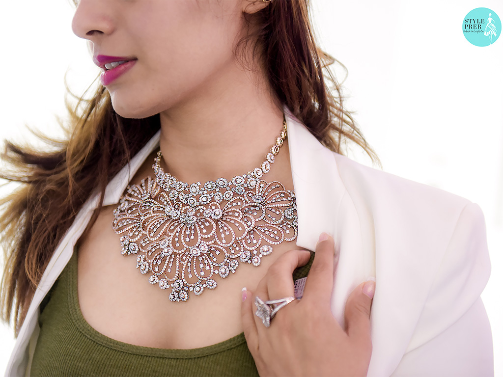 BR Designs Necklace With Forevermark Diamonds