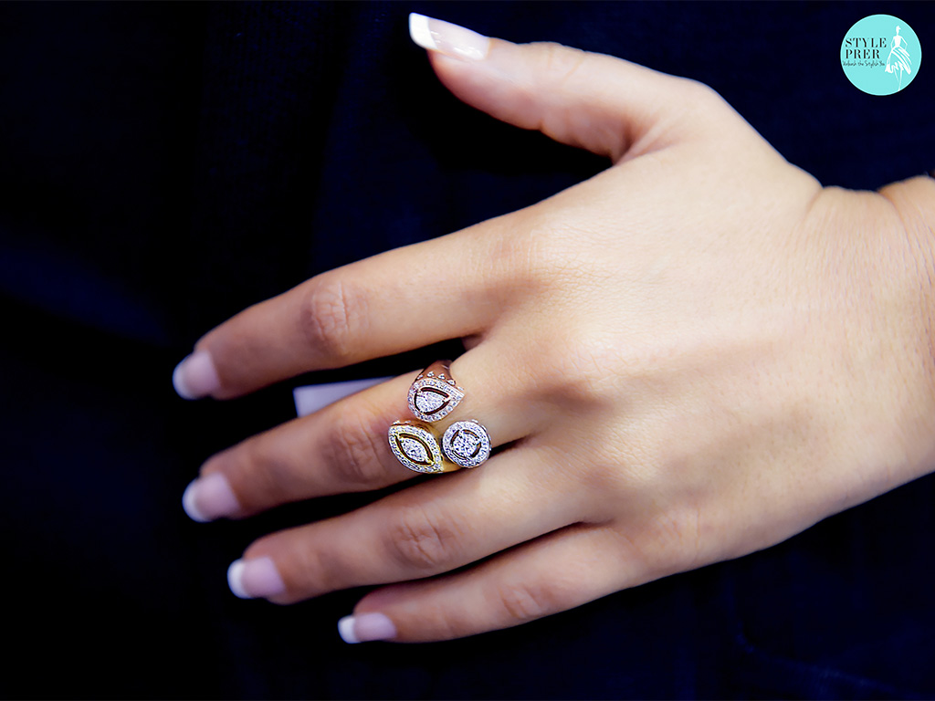 Fancy Forevermark Diamond Ring In Tri-Color By Rose