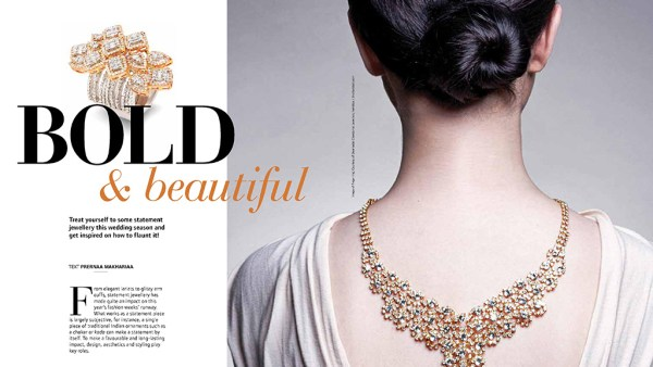 Bold And Beautiful In Jet Wings, Jet Airways November 2017