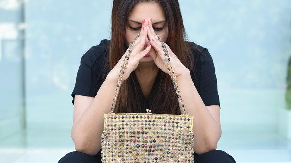 Handcrafted 447 grams Gold And 850 carat Cabochon Tourmaline Handbag By Gyan Jewels