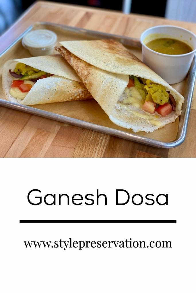 Ganesh Dosa, a restaurant in Kailua on O'ahu