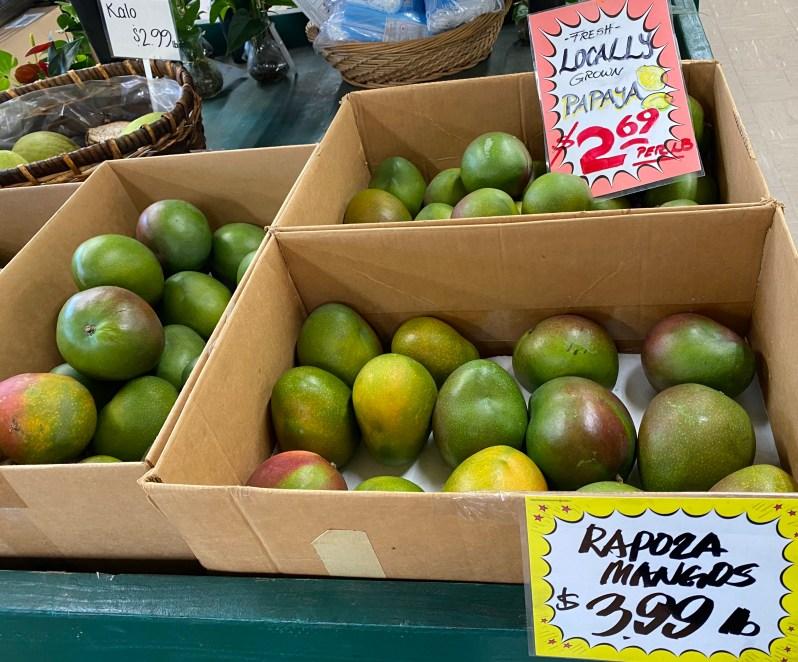 Fruit at Koolau Farmers