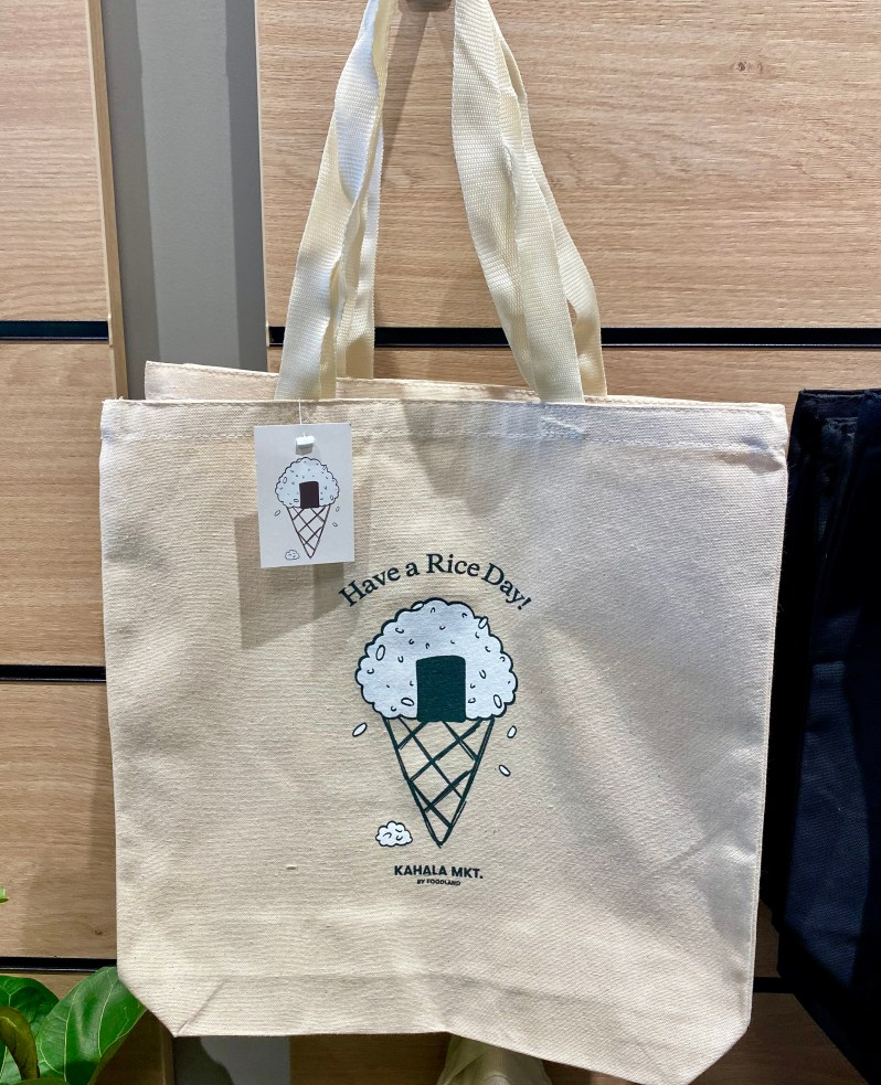 Have a Rice Day tote from Foodland Kahala MKT.