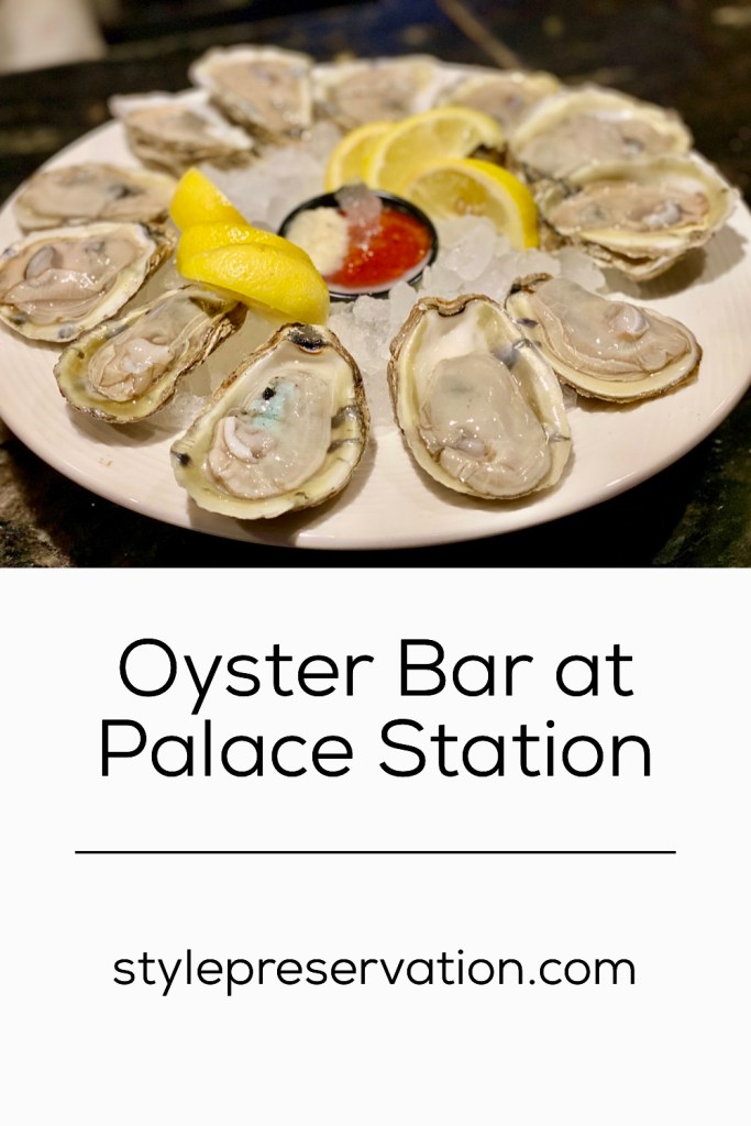 Oyster Bar at Palace Station title picture