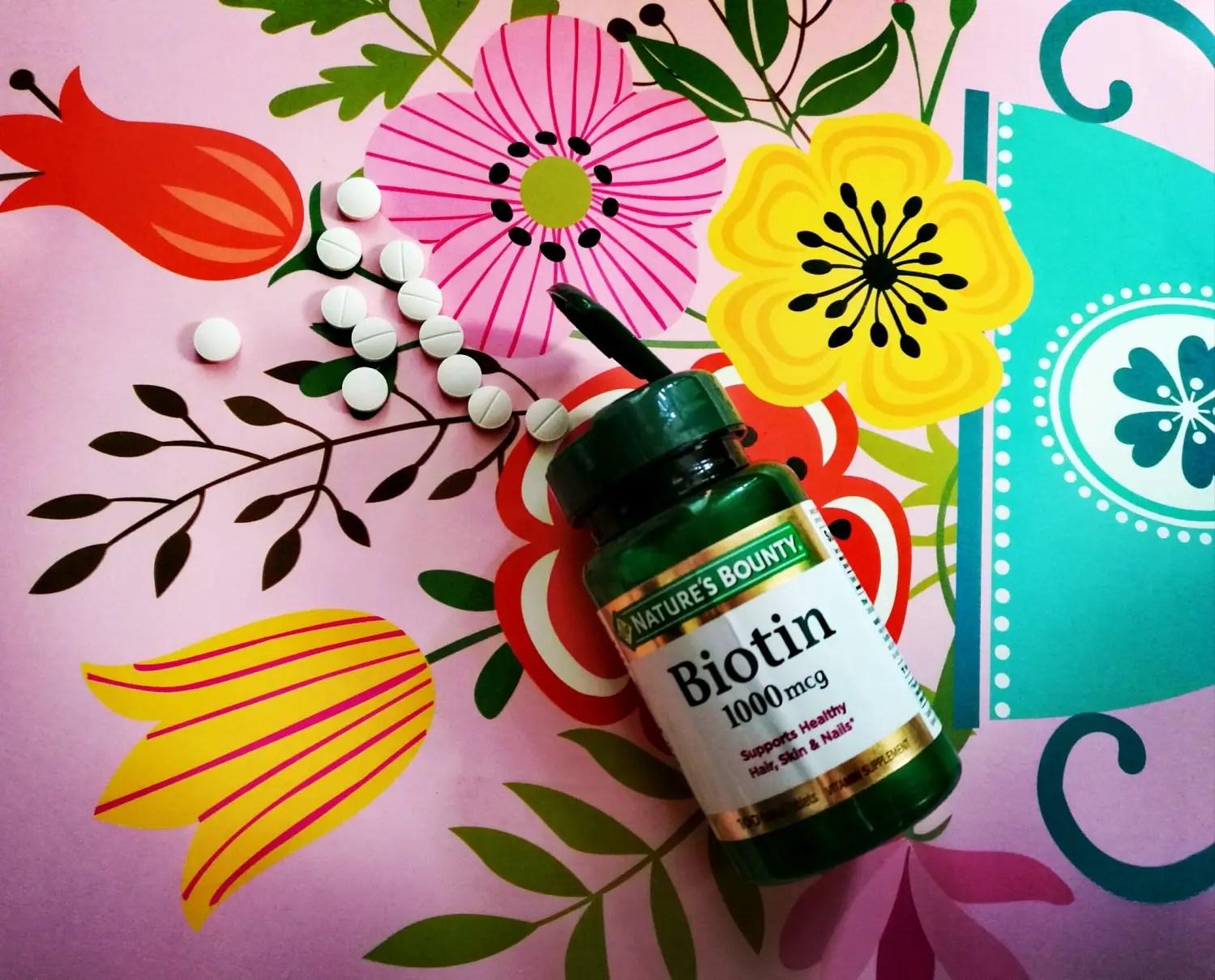 Nature's Bounty Biotin Review