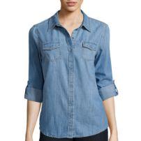 Arizona Long-Sleeve Denim Shirt