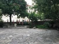 The Alamo Courtyard