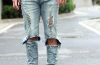 2016Top-kanye-west-rappresentano-abbigliamento-uomo-slp-uomini-blu-nero-del-progettista-Yeezy-skinny-jeans-strappati