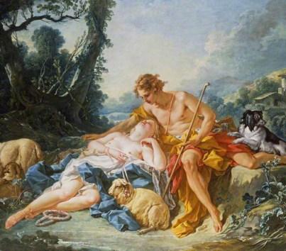 Francois Boucher painting