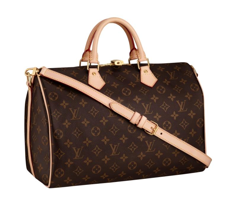 Louis Vuitton Speedy 35 Bandouliere Bag
