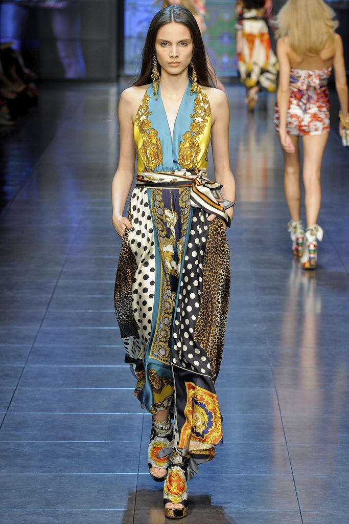 D&G Spring Summer 2012 Collection 16