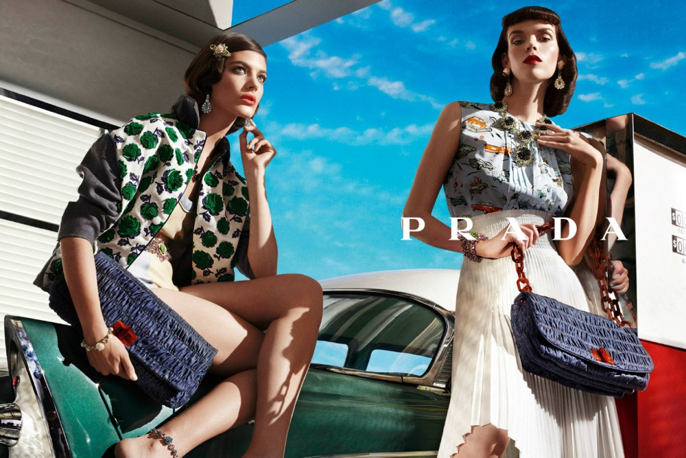 Prada Spring Summer 2012 Ad Campaign by Steven Meisel 12