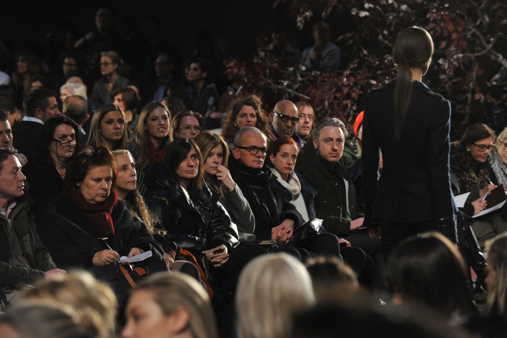 Tommy Hilfiger Fall Winter 2012 Collection Front Row