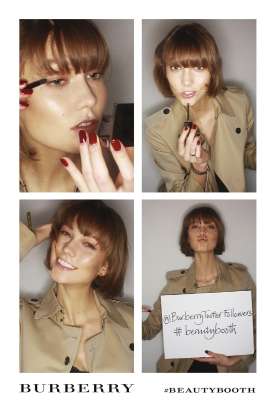 Burberry #BeautyBooth at the Burberry Prorsum Womenswear Autumn Winter 2013 Show 7