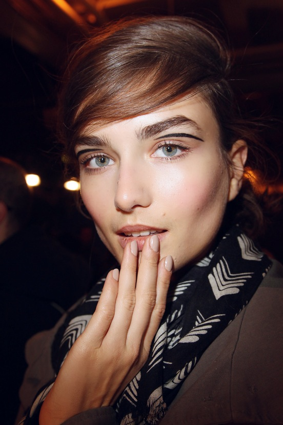 Rag and Bone Fall 2013 Backstage Beauty 2