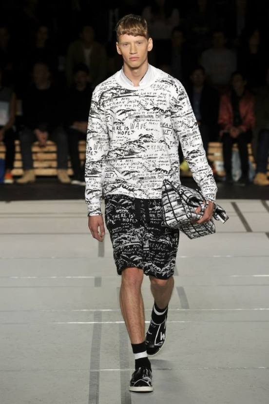 Kenzo Men Spring Summer 2014 Collection 16