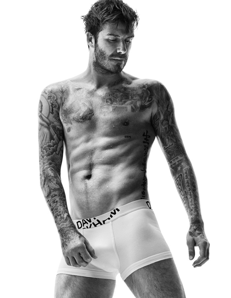 David Beckham for HM Bodywear Fall 2014 Campaign 1