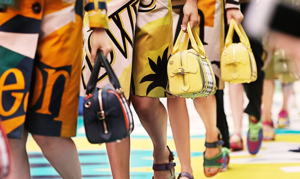 Backstage at the Burberry Prorsum Spring 2015 Show 22