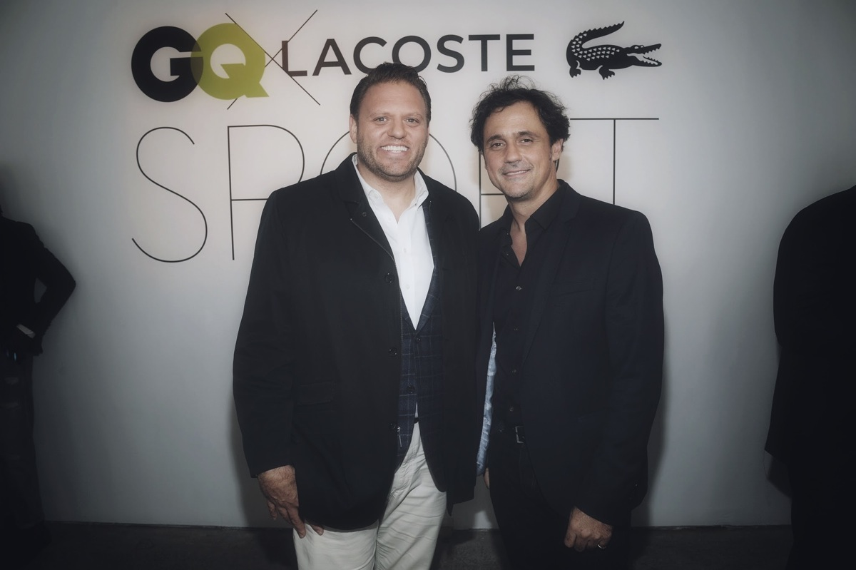 GQ X Lacoste Celebrate Sport Pop-Up Shop Opening In NYC Hosted By Taye Diggs And Taylor Kitsch