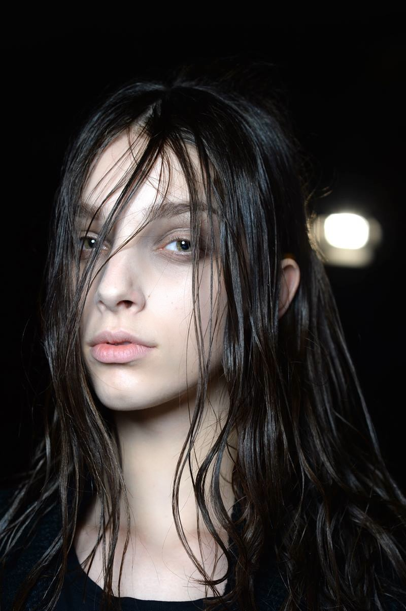 Backstage at the Alexander Wang Fall Winter 2015 Show 3