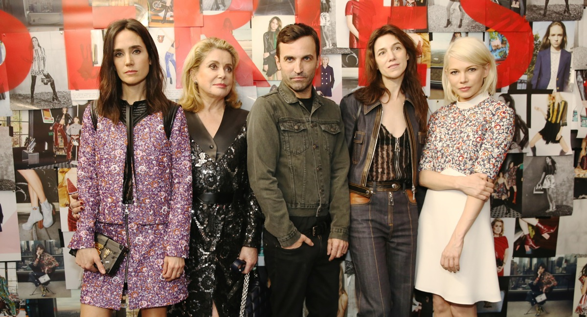 Jennifer Connelly Nicolas Ghesquiere Charlotte Gainsbourg Charlotte Gainsbourg Michelle  Williams attend Louis Vuitton SERIES 2 Past Present and Future Exhibition in Los Angeles