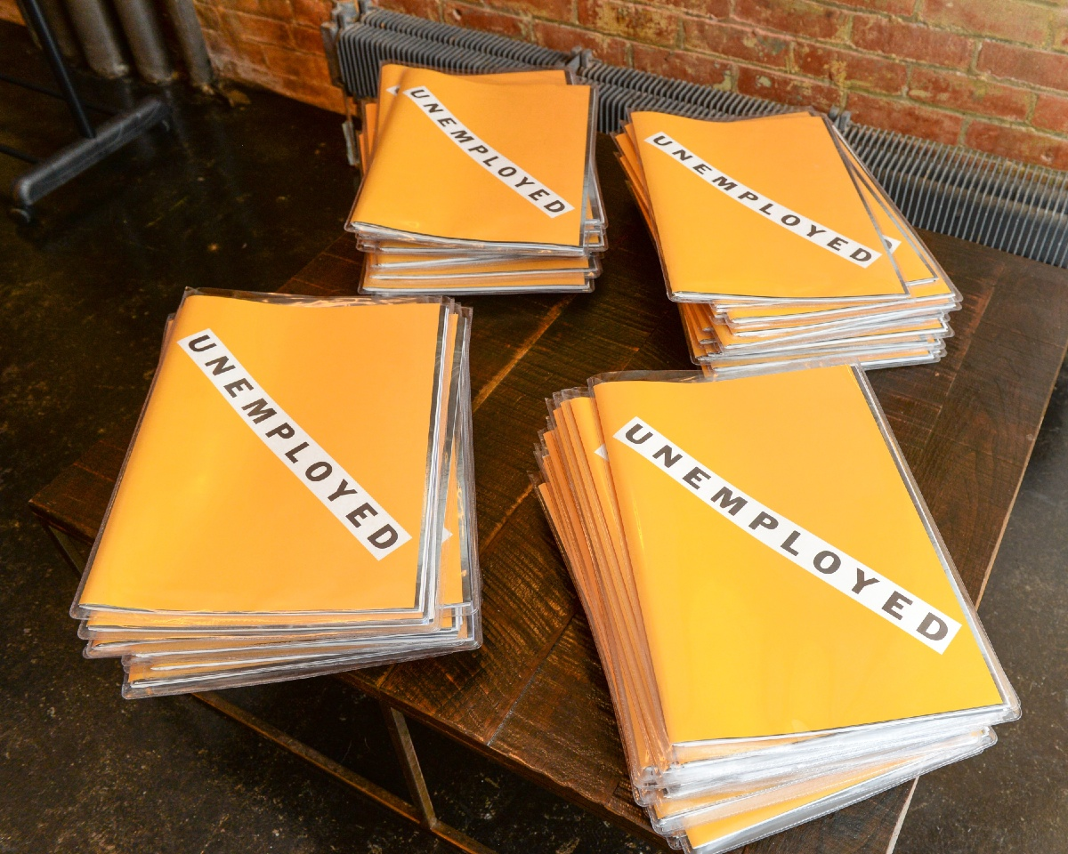 Unemployed Magazine Celebrates its Number 1 Issue in NYC 3