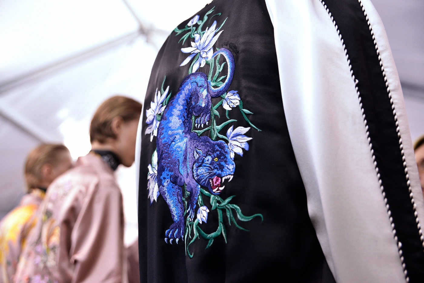Backstage at the Louis Vuitton Menswear Spring Summer 2016 Show 29