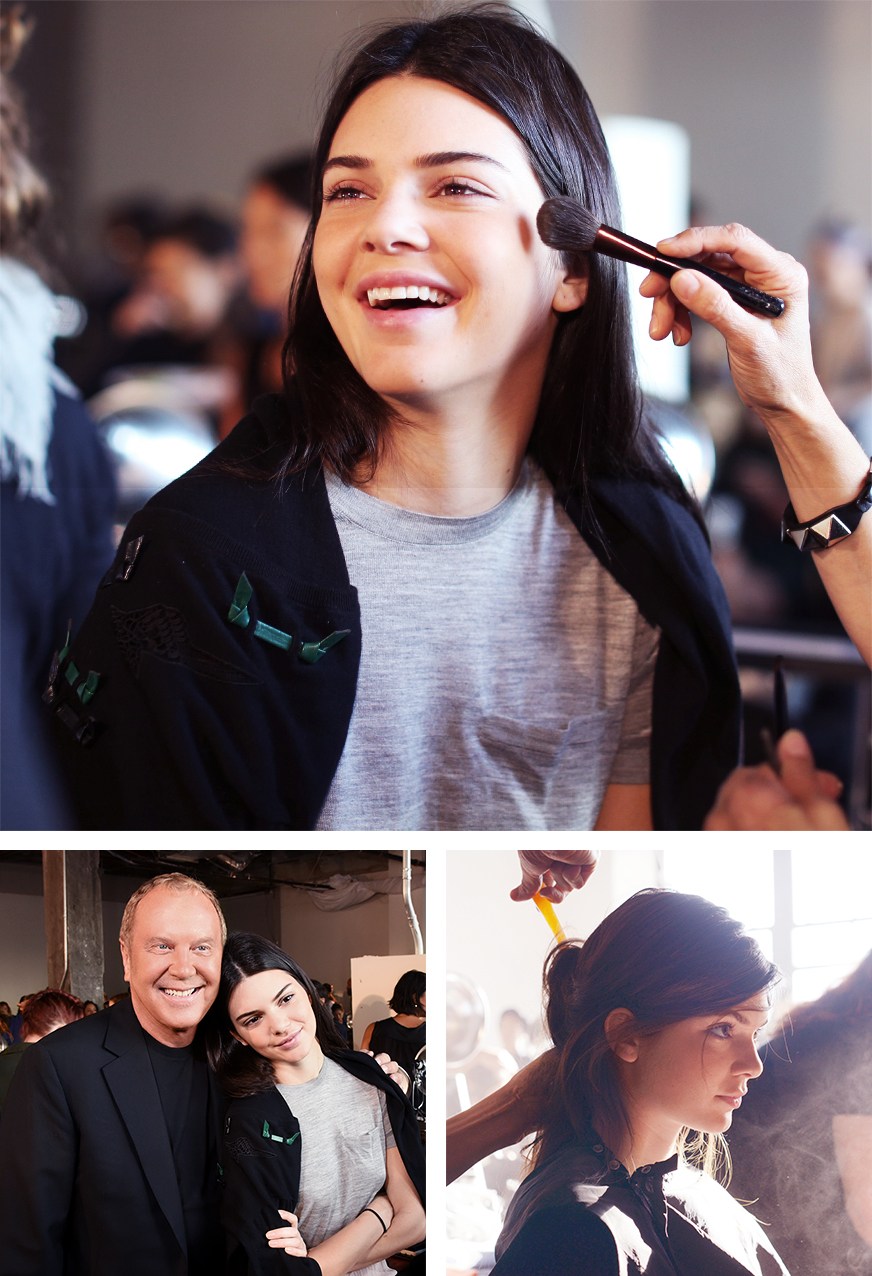 Backstage Beauty at the Michael Kors Spring Summer 2016 Show 1